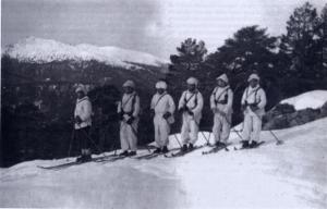 Batallon Alpino en Sierra de Guadarrama