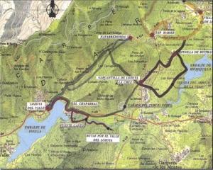 rutas de los robledales valle del lozoya