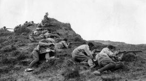 Soldados en Somosierra