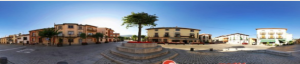 plaza de rascafria vista 360